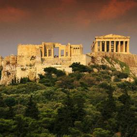 the Acropolis - world heritage monument