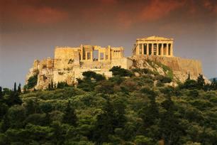 the Acropolis - world heritage monument