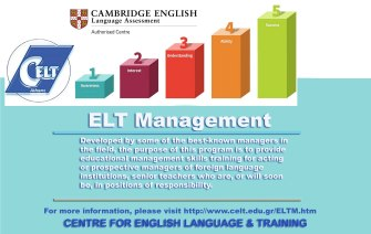 An ELT Management course taught by some who actually HAS management experience and expertise!
