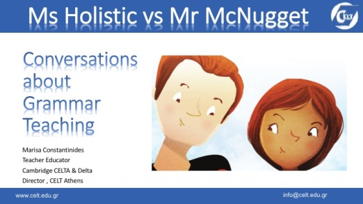 Μrs Holistic vs Mr McNugget