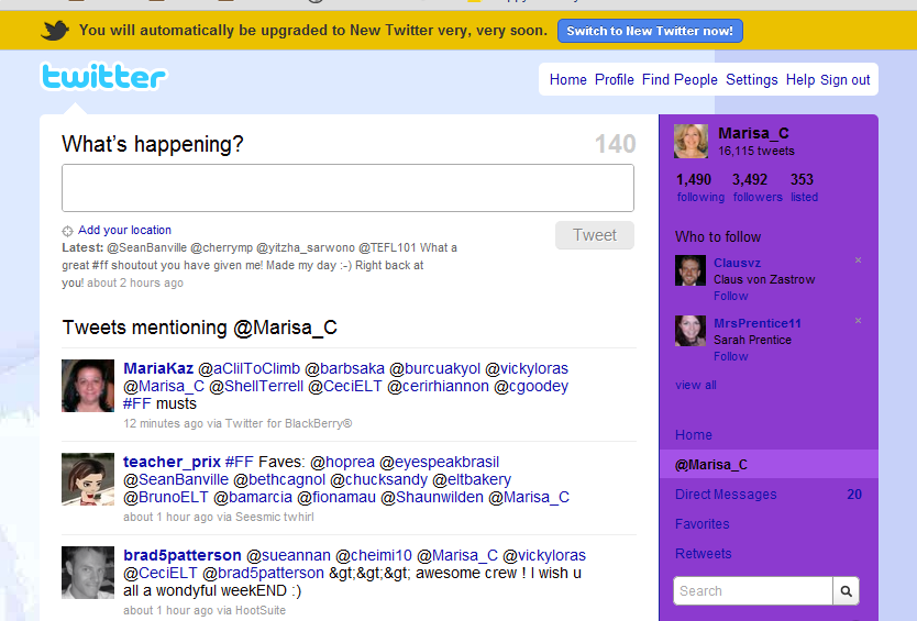 old twitter