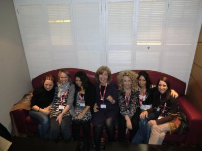 Esra Girgin, Amanda Wilson, Marisa Constantinides, Shelly Terrell, Petra Poitner, Ozge Karaoglu, Vicky Shaumell , IATEFL Harrogate 2010 – Twitter friends united for the first time
